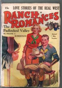 Ranch Romances 5/14/1937-The Padlocked Valley-John Drew-FN-
