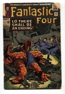 Fantastic Four #43 1965 Jack Kirby- Frightful Four G