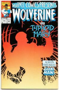 Marvel Comics Presents #115 Wolverine / Ghost Rider / Iron Fist (1992) VF-