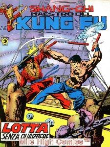 SHANG-CHI MAESTRO DEL KUNG FU MAGAZINE ITALIAN (1975 Series) #29 Very Fine