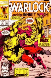 Warlock and the Infinity Watch #13, NM- (Stock photo)