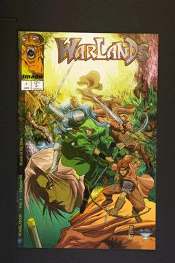 Warlands # 4 January 2000 Image Comics