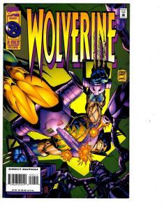 7 Wolverine Marvel Comic Books # 92 94 95 96 97 98 99 Jubilee Storm X-Men WM1