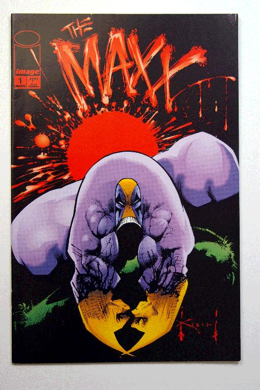 The Maxx #1-3 Mar-May 1993 First Printings Sam Keith