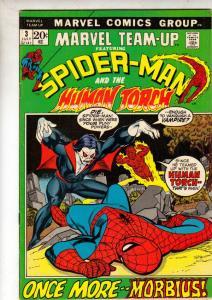 Marvel Team-Up #3 (Jul-72) NM- High-Grade Spider-Man