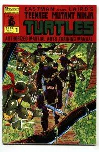 TEENAGE MUTANT NINJA TURTLES Authorized Martial Arts Training Manual #1 1986
