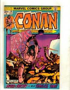 Conan The Barbarian # 19 VF/NM Marvel Comic Book Elric Red Sonja Kull King RS2