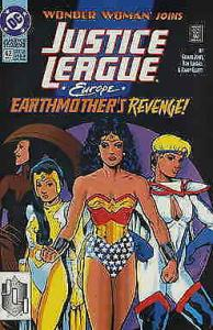 Justice League Europe #42 FN; DC | save on shipping - details inside