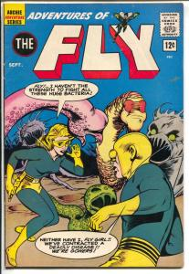 Adventures of The Fly #21 1962-Archie-Fly-Girl-Jaguar females-FN-