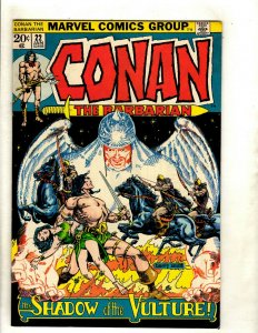 Conan The Barbarian # 22 VF Marvel Comic Book Elric Red Sonja Kull King RS2