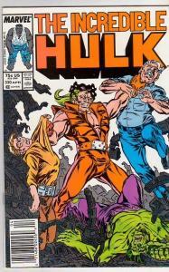 Incredible Hulk #330 (Apr-87) NM- High-Grade Hulk