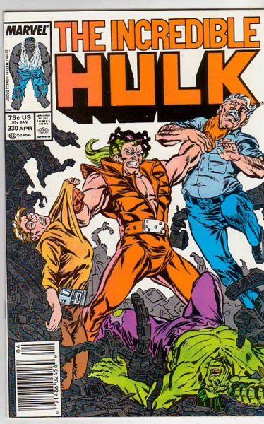 Incredible Hulk #330 (Apr-87) NM- High-Grade Hulk