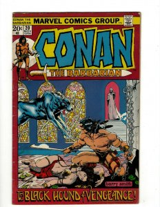 Conan The Barbarian #20 FN/VF Marvel Comic Book Barry Smith Kull King Sword NP16
