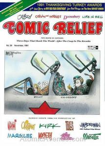 Comic Relief (magazine) #29 FN; Page One | save on shipping - details inside
