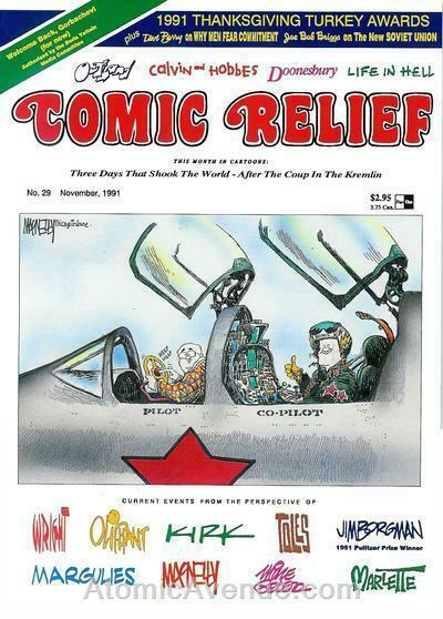 Comic Relief (magazine) #29 FN; Page One   save on shipping - details inside