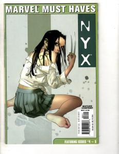 Marvel Must Haves 23 NYX # 4 5 Compiled NM 1st Print Marvel Comic X-23 CR31