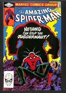 Amazing Spider-Man #229  Juggernaut! Marvel Comics Spiderman