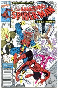 AMAZING SPIDER-MAN #340 1990-MARVEL COMICS-NM NM