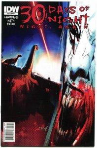 30 DAYS of NIGHT Again #2, VF+, Variant, Joe Lansdale, Sam Kieth, Vampires,2011