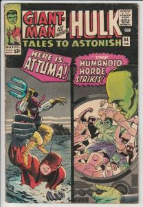 Tales to Astonish #64 (Feb-65) FN+ Mid-High-Grade Giant-Man, Hulk