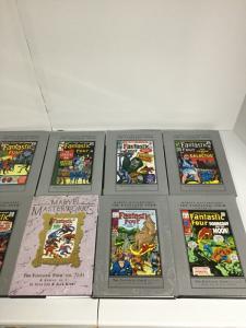Fantastic Four Marvel Masterworks Vol 1 2 3 4 5 6 7 8 9 10 TPB Hardcover Lot Nm