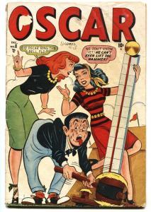 Oscar #8 1948-Marvel-spicy cover--Good Girl Art-G/VG