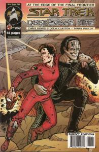 Star Trek: Deep Space Nine (Malibu) #32 VF; Malibu | save on shipping - details