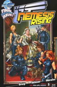 VSS: Nemesis Rising #5 VF/NM; Bluewater | save on shipping - details inside