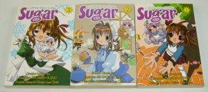 A Little Snow Fairy Sugar vol. 1-3 VF/NM complete series - ADV Manga set 2