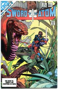 SWORD of the ATOM #1 2 3 4, VF+/NM-, 1983, Gil Kane, 4 issues, more in store
