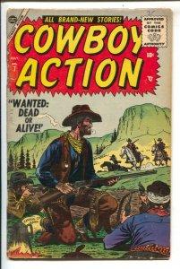 Cowboy Action #7 1955-Atlas-Russ Heath cover-Yakima Yates- Indian Agent -Want...