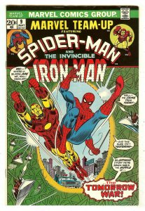 Marvel Team-Up 9   Spiderman & Iron Man