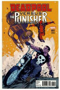 Deadpool vs Punisher #1 Walsh Variant (Marvel, 2017) NM