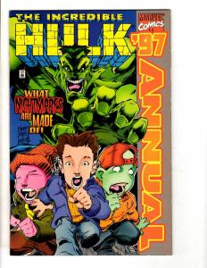 9 Hulk Marvel Comics #458 459 + Annuals 16 17 18 97' Future 1 Unleashed 1 -1 DB1
