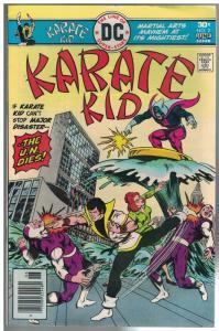KARATE KID (1976) 2 FN-  June 1976