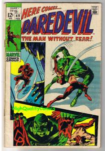 DAREDEVIL #49, VG, Gene Colan, Robot, Stan Lee,1964, more DD in store
