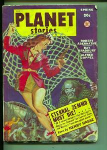 Planet Stories-Pulp-Spring-1949-Ray Bradbury-Robert Albernathy