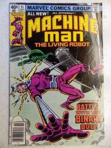 MACHINE MAN # 11 MARVEL ACTION ADVENTURE DITKO WOLKMAN
