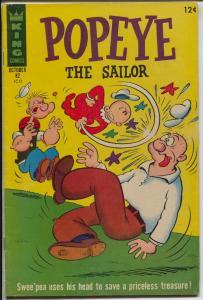Popeye #82 1966-King-Swee'pea-Bud Sagendorf-VG