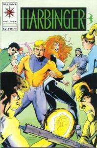 Harbinger (1992 series) #16, NM + (Stock photo)