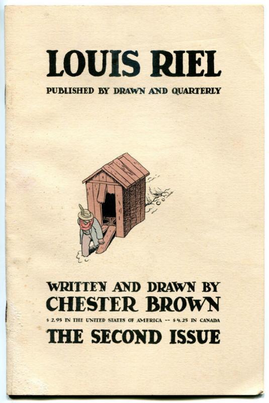 LOUIS RIEL #2, VG, Chester Brown, Independent, 1999, more indies in store