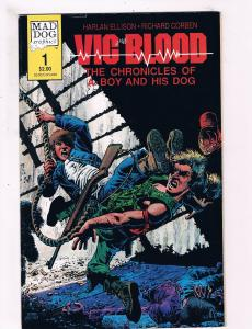 Vic Blood The Chronicles Of A Boy And His Dog # 1 VF Mad Dog Comic Books WOW SW8
