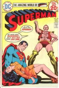 SUPERMAN 281 FINE  November 1974 COMICS BOOK