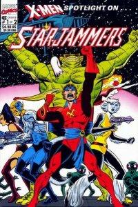 X-Men Spotlight on ... Starjammers #1, NM (Stock photo)