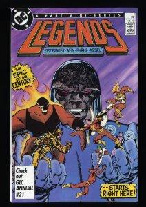 Legends (1986) #1 NM+ 9.6 1st Amanda Waller Suicide Squad!