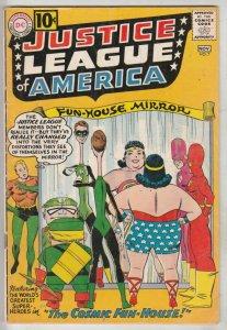 Justice League of America #7 (Nov-61) VG/FN+ Mid-Grade Justice League of America