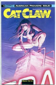 CAT CLAW #1 , NM  Femme Fatale, Cat woman, Good Girl, still factory sealed