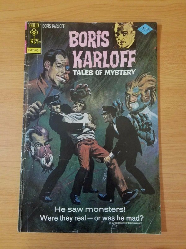 Boris Karloff Tales of Mystery #67 ~ FINE FN ~ (1976, Western Publishing Comics)