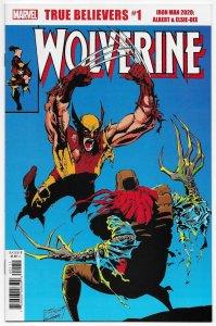 True Believers Iron Man 2020 Albert & Elsie-Dee #1 Rep Wolverine #37 (NM)