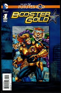 Futures End Booster Gold Standard Cover (2014, DC) 9.2 NM-